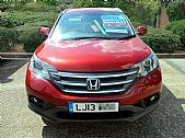 please mouse over this HONDA CRV thumbnail for larger photograph