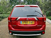 please mouse over this MITSUBISHIOUTLANDER GX thumbnail for larger photograph